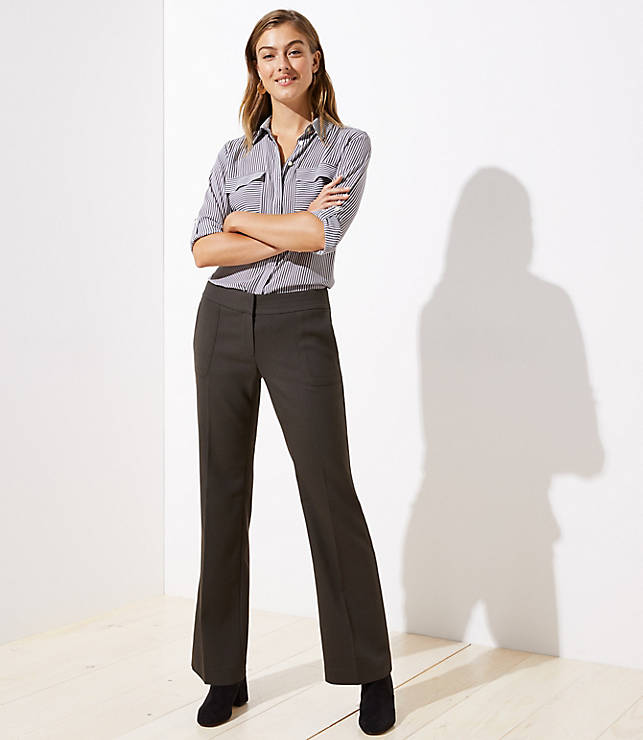 Petite Patch Pocket Trousers in Julie Fit