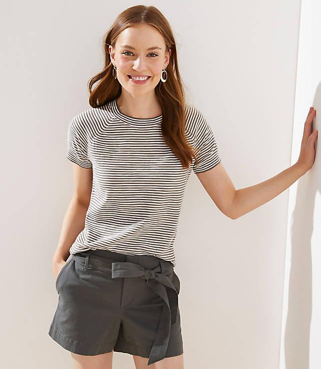 4f6ff5a7f2f0 Striped Sweater Tee