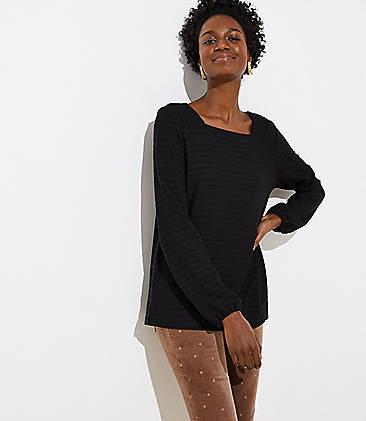 4a30d93178322 Scoop Neck   Turtleneck Sale Tops  Women s Shirts on Sale