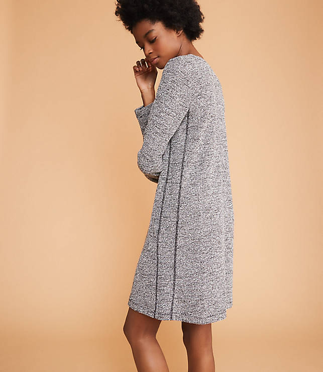 5547dac5e7 Lou   Grey Boucle Tweed Pocket Dress