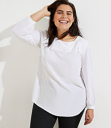 White & Yellow New To Sale Plus Size Clothing for Women   LOFT