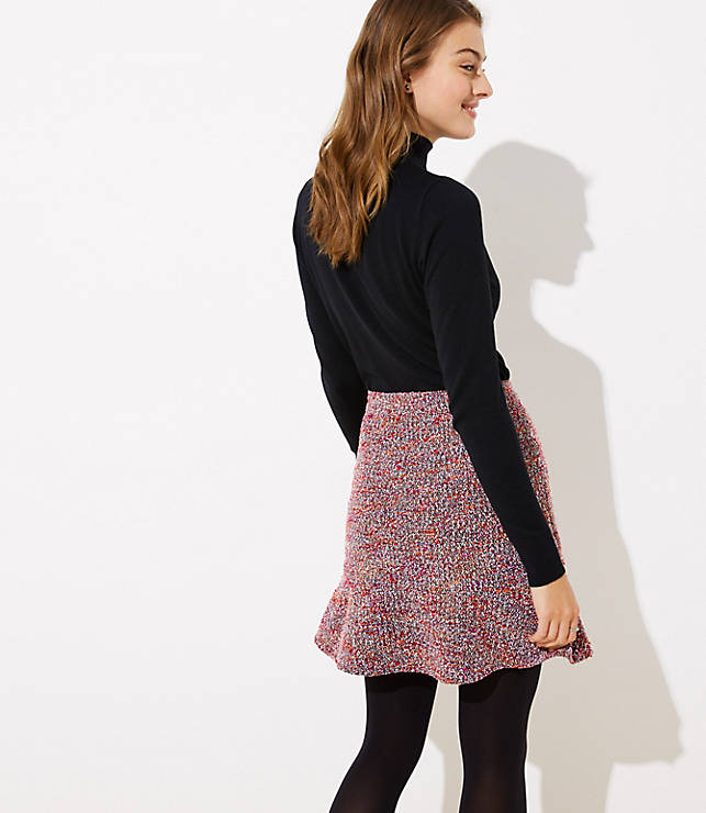 8744fc4f39d Petite Tweed Flippy Skirt