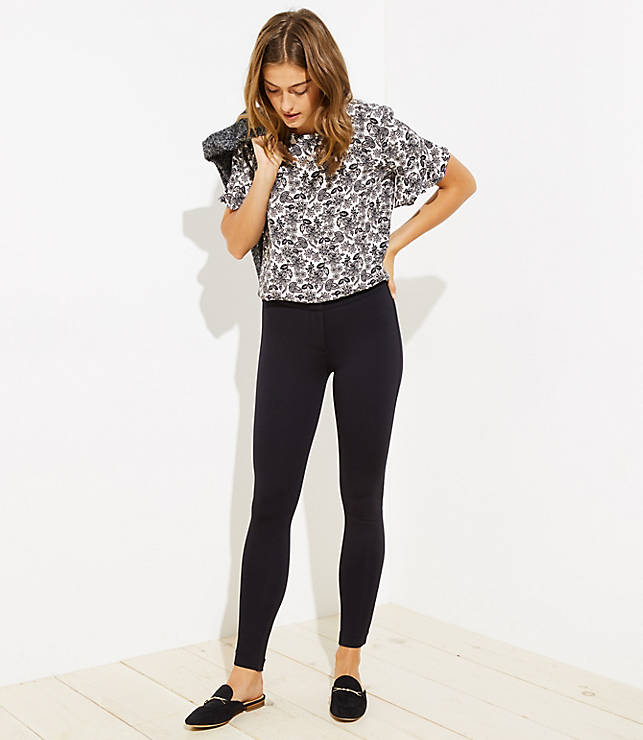Petite Leggings in Ankle Zip