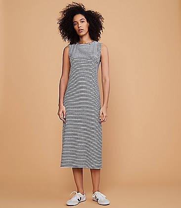 7889734ca5 ... $89.50 Lou & Grey Gingham Midi Dress
