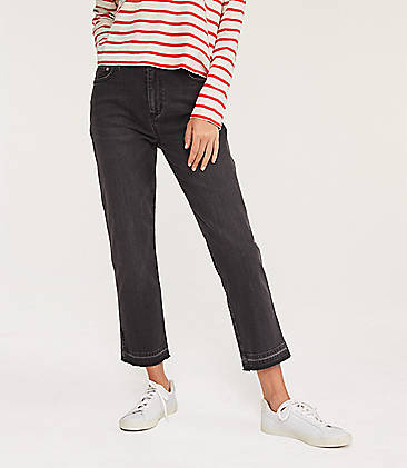 aa3c6c3c6ec9a ... 98 Lou   Grey High Rise Straight Leg Jeans