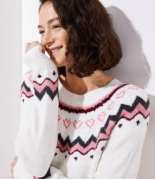 533648d2d33d Swingy Fairisle Sweater