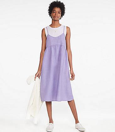 9ad8b6323506 ... 98 Lou   Grey Linen Apron Dress