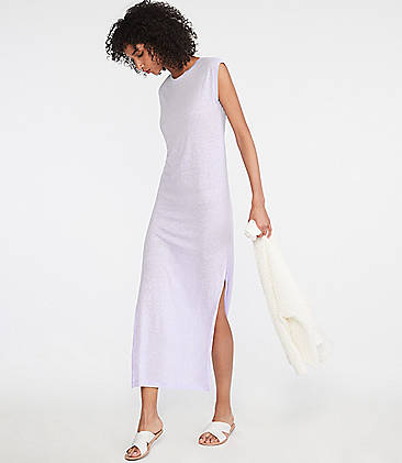 059d59ac68 ... 79.50 Lou   Grey Linen Midi Tee Dress