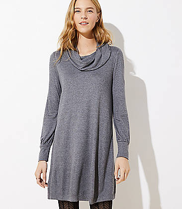 Tall Cowl Neck Dress