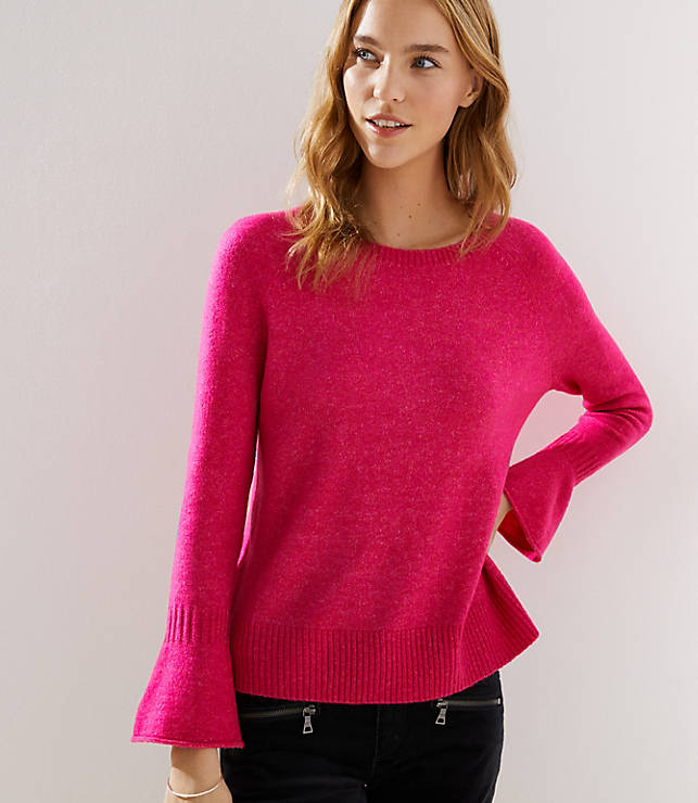 f7450c7cbc40 Petite Flare Cuff Sweater