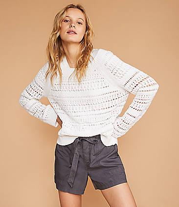 Lou   Grey Eyelash Stitch Sweater 5e92f436c