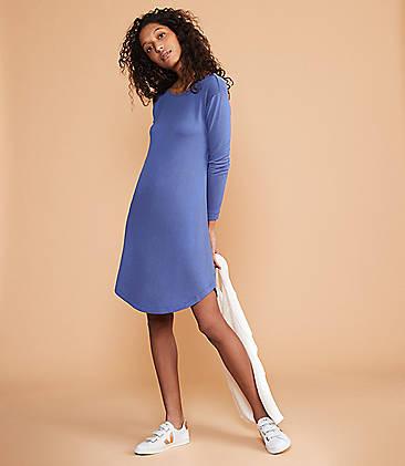 2c9eca0dc56 Lou   Grey Signaturesoft Shirttail Dress