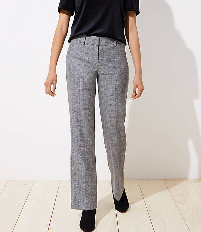 Petite Plaid Trousers in Julie Fit