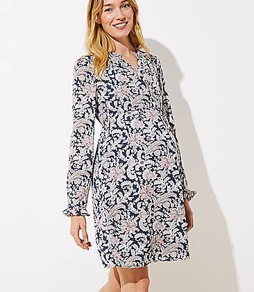 f9e6276390740 Blue & Grey Maternity Clothes: Dresses, Jeans, Leggings & Tops | LOFT