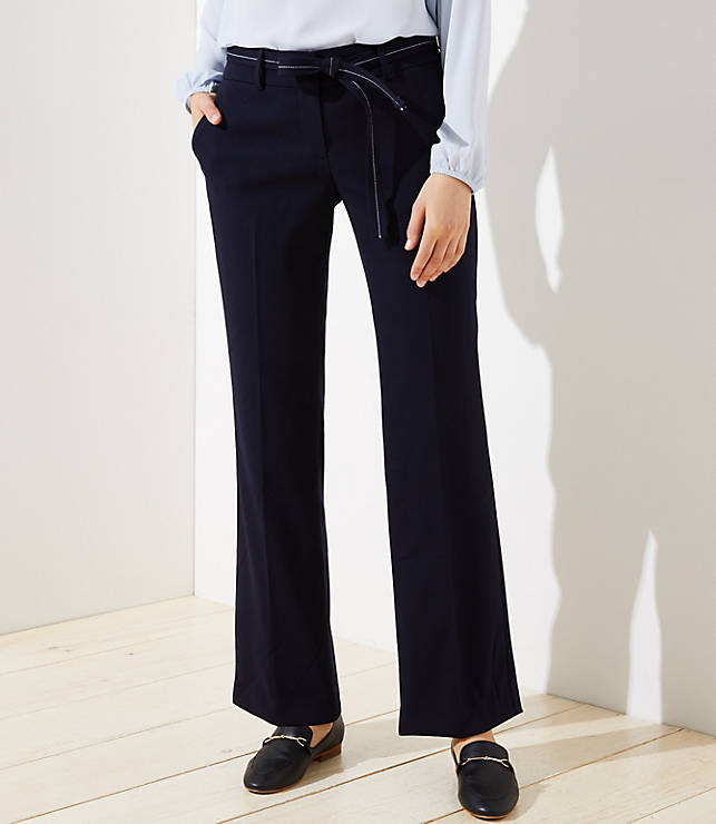 Petite Trousers in Tie Waist in Julie Fit