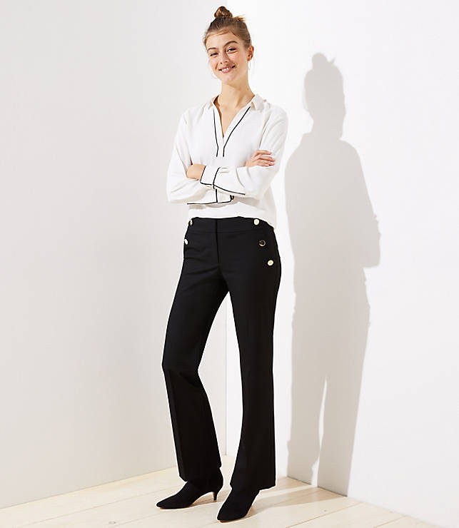 Petite Sailor Trousers in Marisa Fit