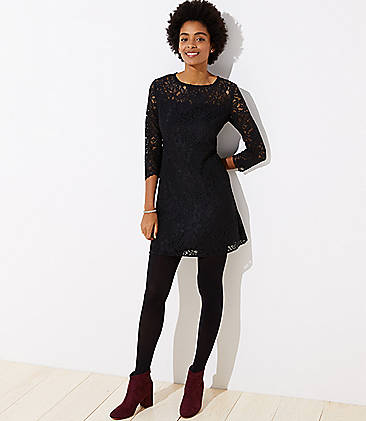 Tall Cutout Back Lace Dress
