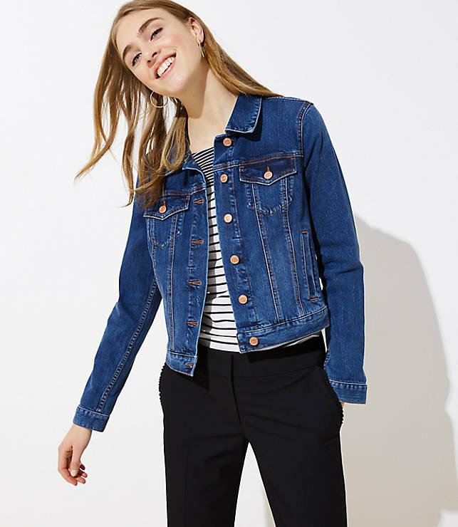 Petite Modern Denim Jacket