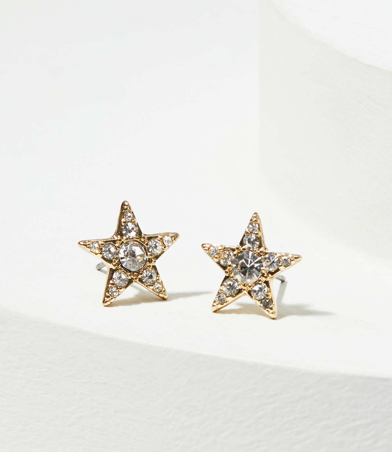 Crystal Star Stud Earrings | LOFT