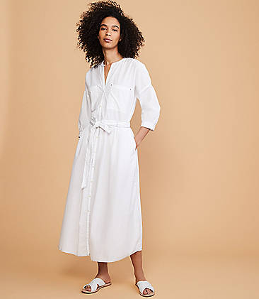 83ecf40a34e ... 118 Lou   Grey Outline Poplin Shirtdress