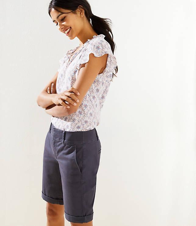 Bermuda Roll Shorts with 10 Inch Inseam