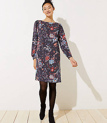 6922c6fd1cc Nouveau Garden Cuffed Shirtdress