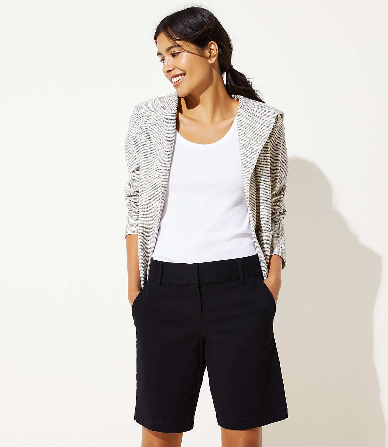 Riviera Shorts with 10 Inch Inseam | LOFT