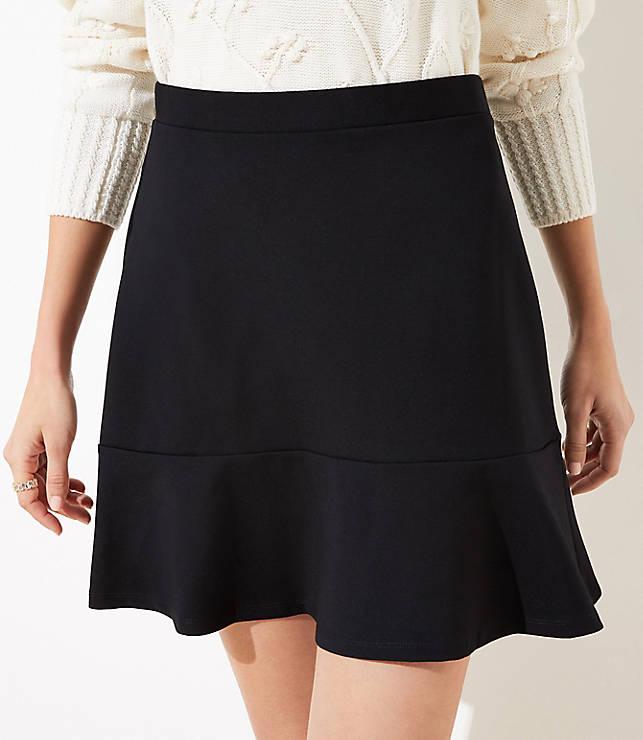 5c4d5b99c864c5 Ponte Flippy Skirt | LOFT