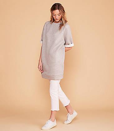 eb88a048dc9 ...  79.50 Lou   Grey Doubleknit Tunic Sweatshirt