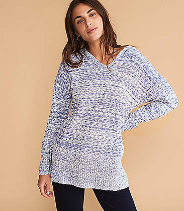 1ace0976796 Lou   Grey Marlknit Hoodie Sweater