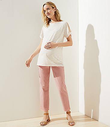 f6ba840f99550 Maternity Pants: Chinos, Leggings & Skinny Pants | LOFT