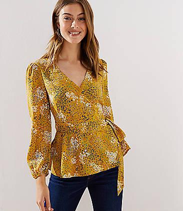 Yellow Blouse Blouses For Women Loft