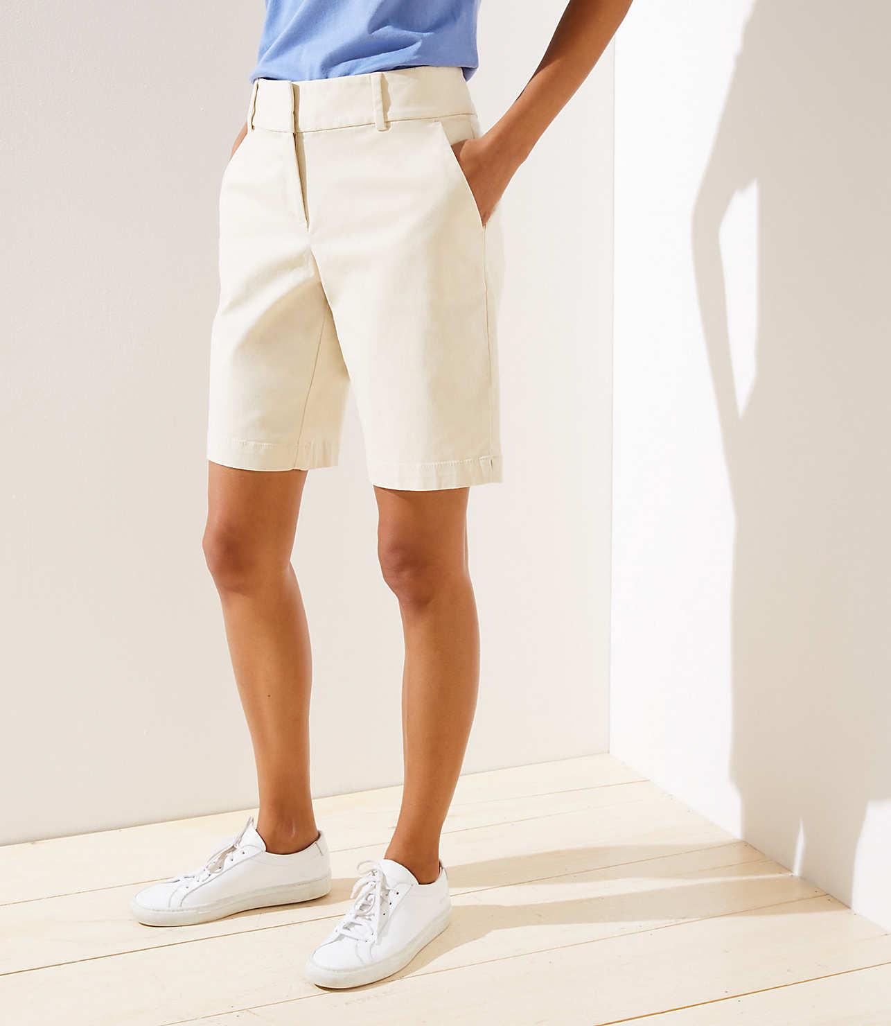 Curvy Riviera Shorts with 10 Inch Inseam | LOFT