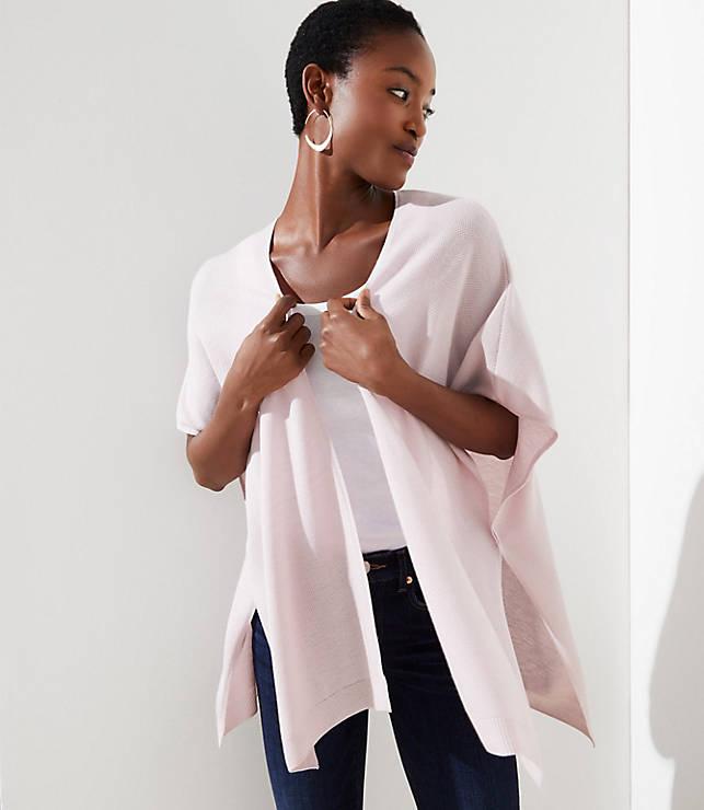 e9d8cfe02 Short Sleeve Kimono Cardigan | LOFT