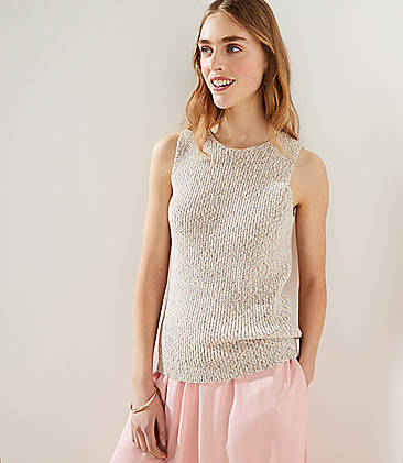 f4939c733c Marled Ribbed Sweater Tank