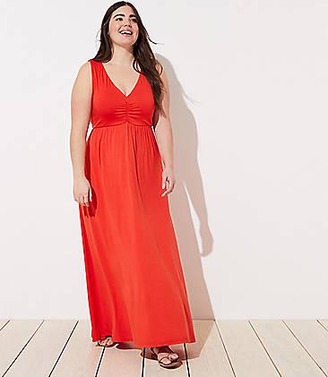 f7d8d2f9309 LOFT Plus LOFT Beach Twist Maxi Dress