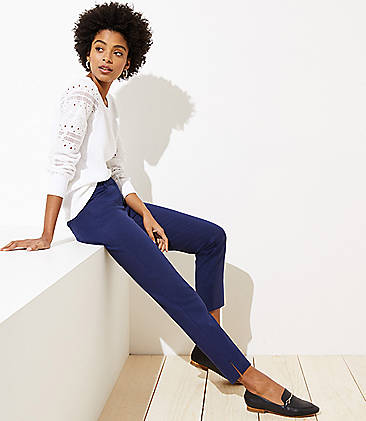 febb8c9a34 Blue Marisa Tall Pants for Women: Skinny Pants, Leggings & More | LOFT