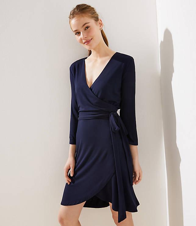 Petite Wrap Dress