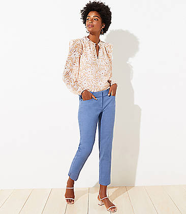 aa434bbbd84 Chambray Riviera Pants in Marisa Fit
