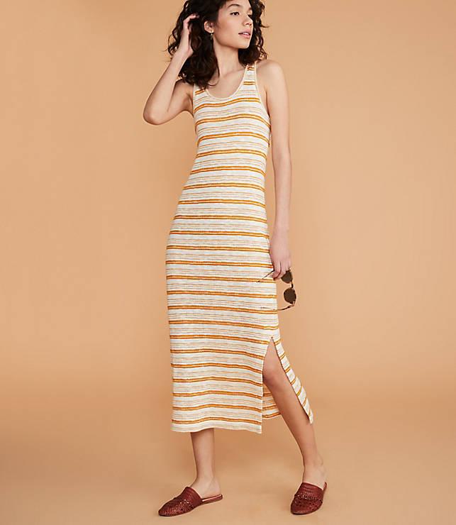 04a281cf8a Lou & Grey Crochet Striped Maxi Dress | Lou & Grey