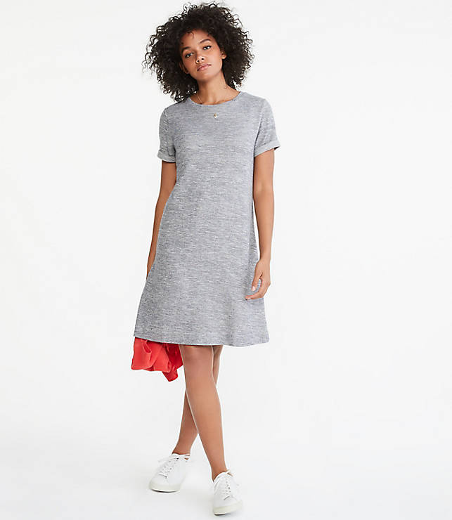 Lou & Grey Lightweight Terry Tee Dress