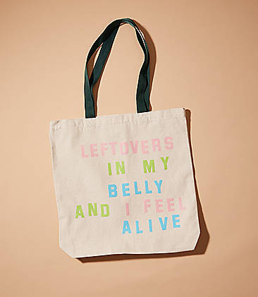 18 Katie Kimmel Leftovers Tote Bag