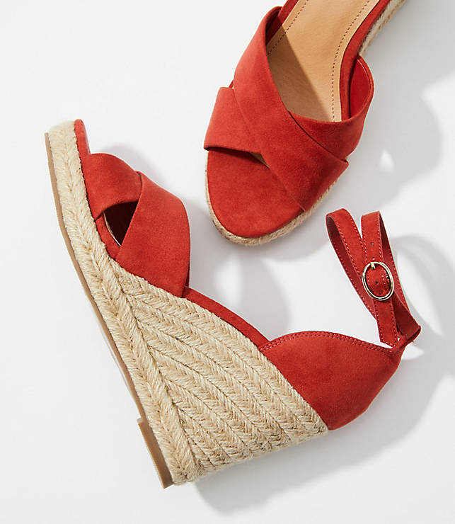 36f5ebf4468 Espadrille Wedge Sandals | LOFT