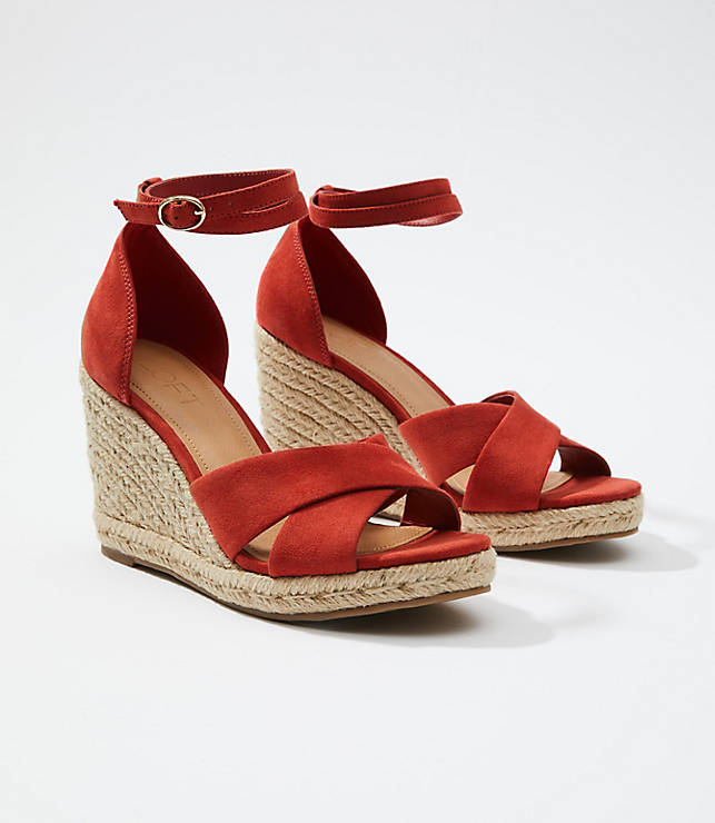 29ad3199d4c Espadrille Wedge Sandals | LOFT