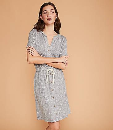 3b79073eae Lou & Grey Brushmarl Shirtdress