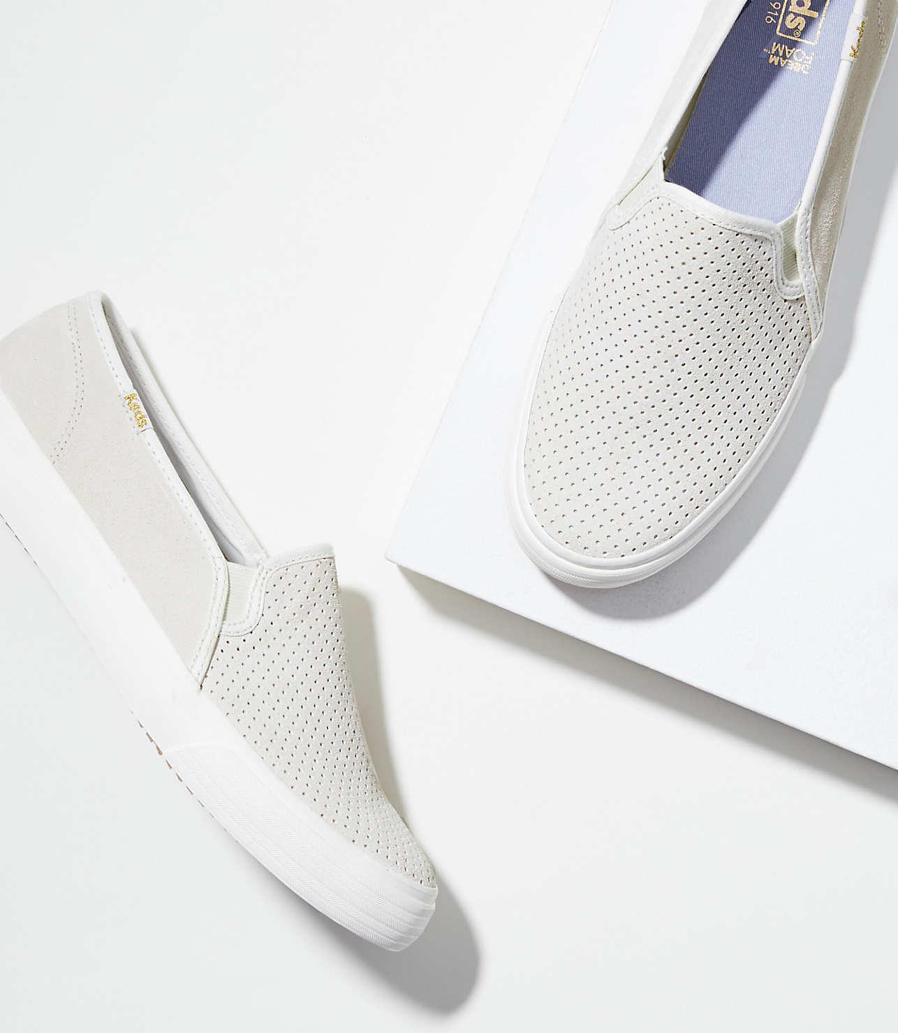 Keds Double Decker Perf Suede Sneakers by Loft