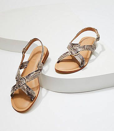 8c5543d8f788 Criss Cross Slingback Sandals