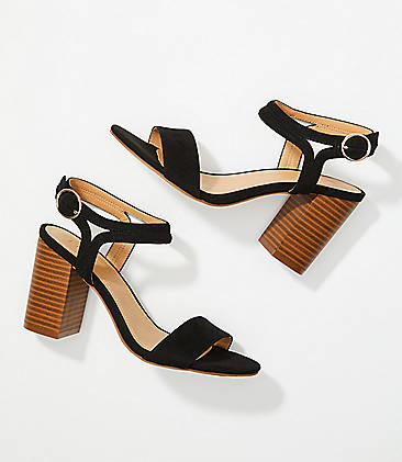 c91e25a8c77f Ankle Strap Block Heel Sandals