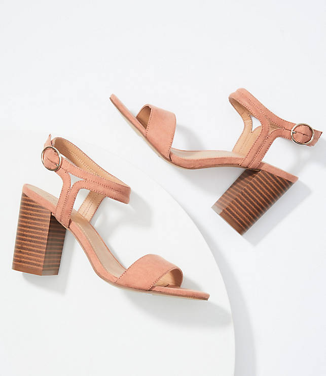 fb3f89aabe0f Ankle Strap Block Heel Sandals