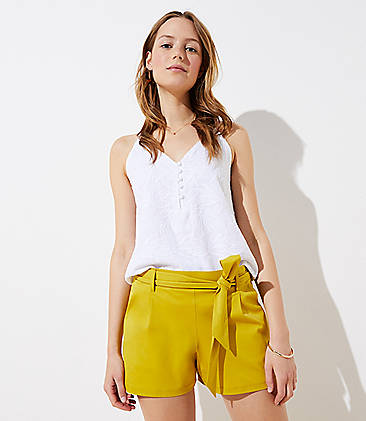 edfde1b45c Shorts for Women  Tie Waist